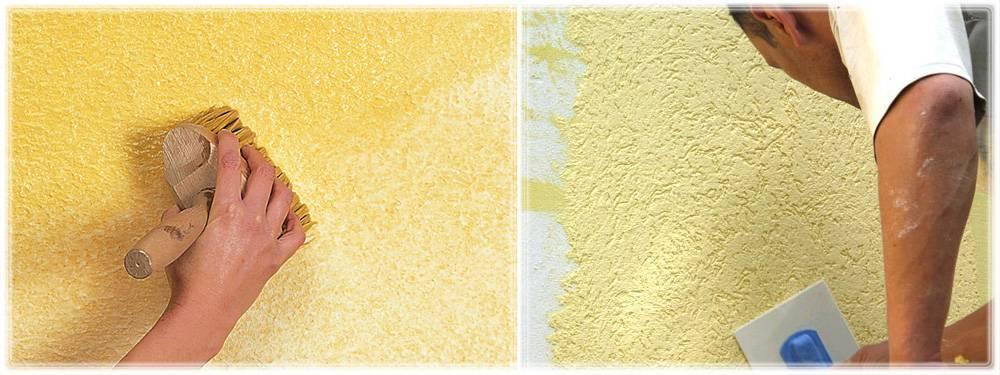 Популярные приемы декоративной покраски стен