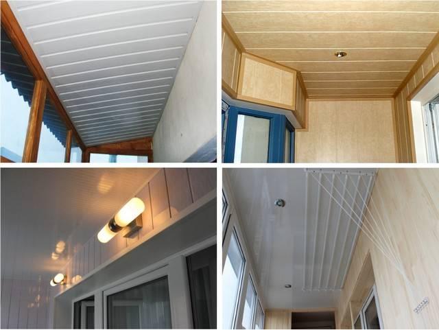 Потолок из панелей пвх