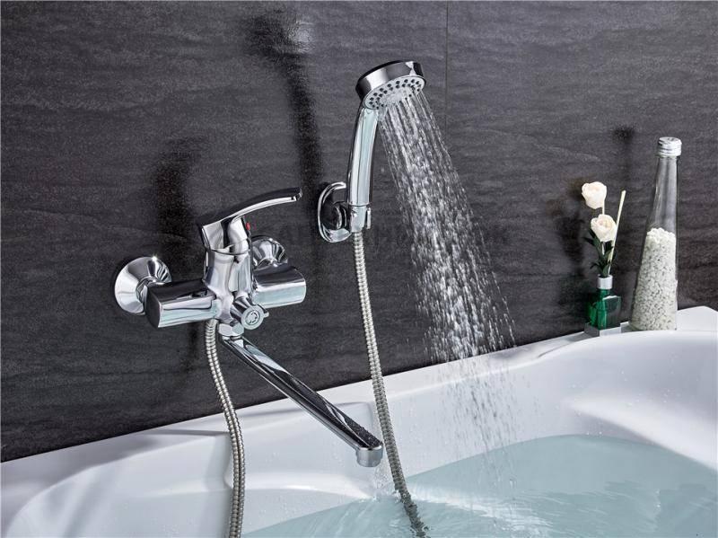 Как выбрать смеситель для ванной и не ошибиться
