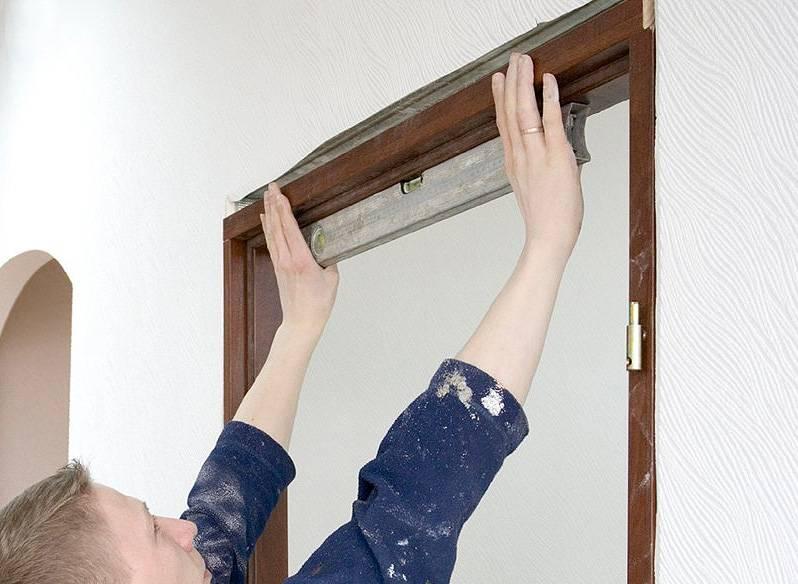 Как ставить межкомнатные двери правильно: ставим коробку своими руками, видео-инструкция