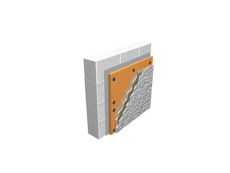 Утепление стен дома из пеноблоков снаружи минватой, пеноплексом
