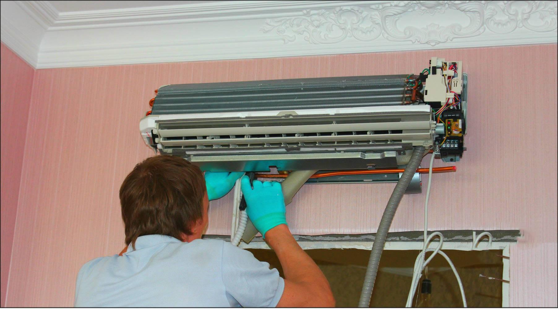 Как почистить кондиционер дома: инструкция по самостоятельной очистке сплит-системы