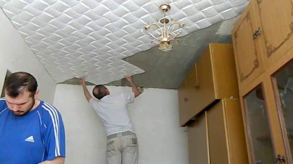 Чем можно отделать потолок в ванной комнате недорого и красиво?