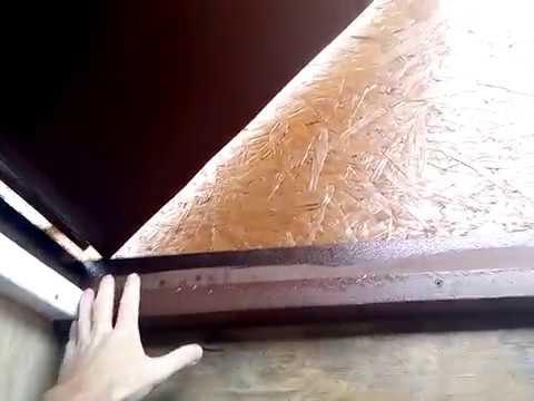 Конденсат на входной металлической двери: что делать