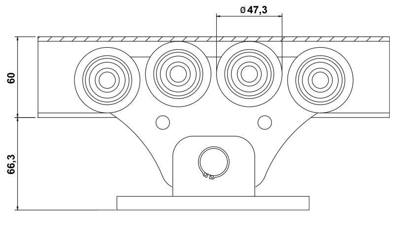 Откатные ворота - чертеж, схема, расчеты и выбор материалов