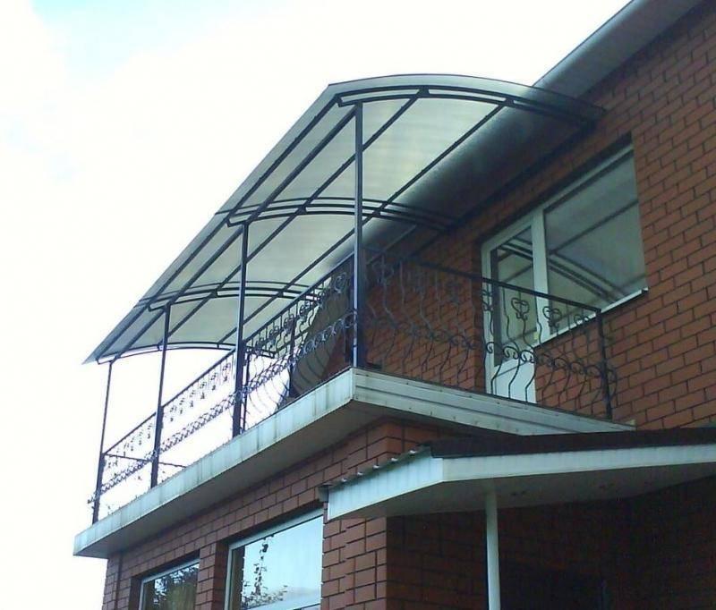 Крыша на балкон — виды различных систем балконных крыш и особенности их обустройства