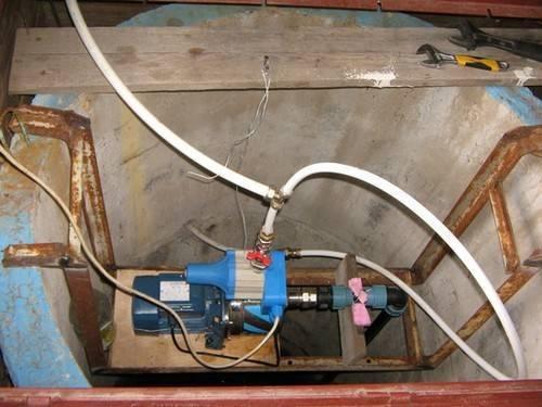 Как подключить насосную станцию к колодцу - всё о сантехнике