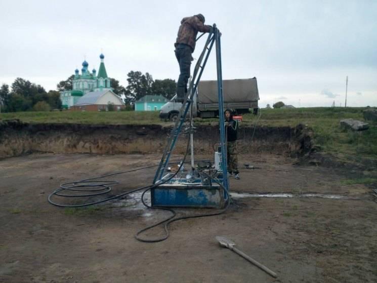 Бурение скважин малогабаритной установкой: буровой мини-продукт, бурение на воду и песок, отзывы