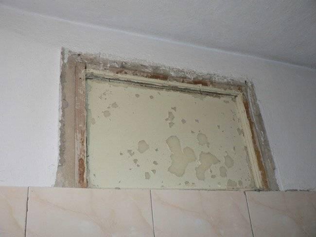 Зачем нужно окно между ванной и кухней и как его обыграть? - квартира, дом, дача - медиаплатформа миртесен