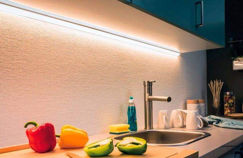 Освещение на кухне — правила выбора, особенности организации и варианты удачного размещения элементов освещения (105 фото)