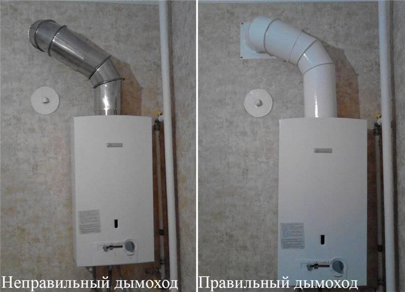 Вытяжная труба для газовой колонки: нюансы выбора и монтажа