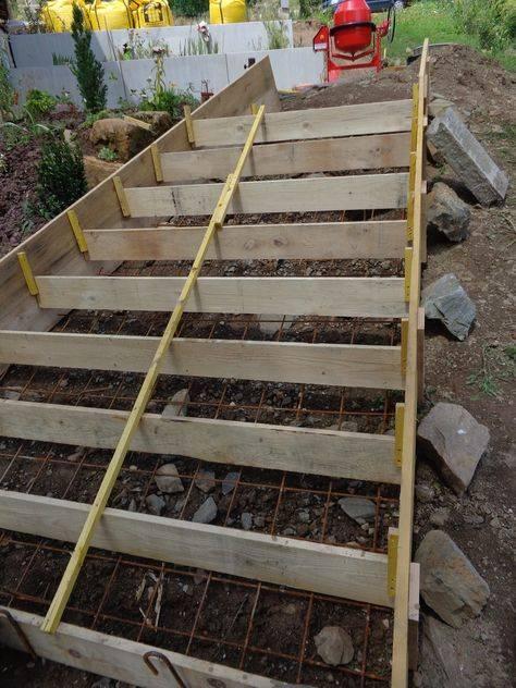 Как сделать ступени в саду: оригинальные решения для разноуровневых участков