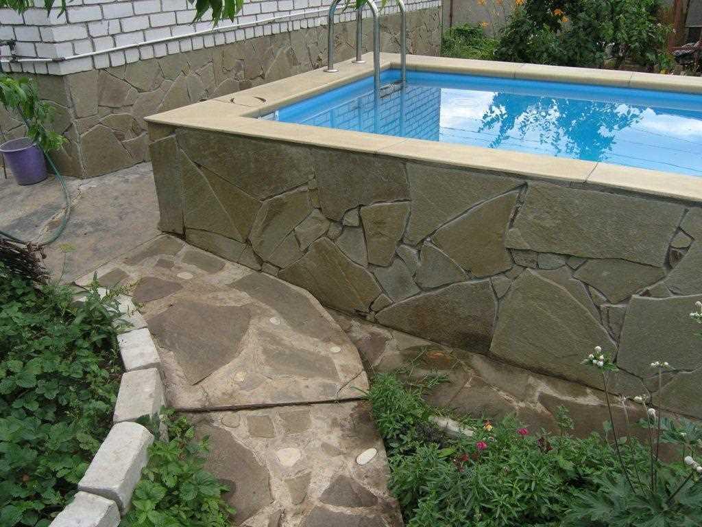 Бассейн во дворе частного дома своими руками: фото и инструкции как правильно сделать » интер-ер.ру