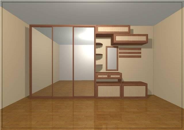 Встроенный шкаф-купе по собственному проекту и своими руками