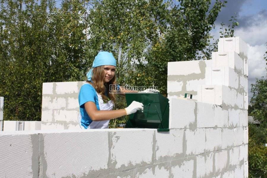 Как построить своими руками дом из газобетона