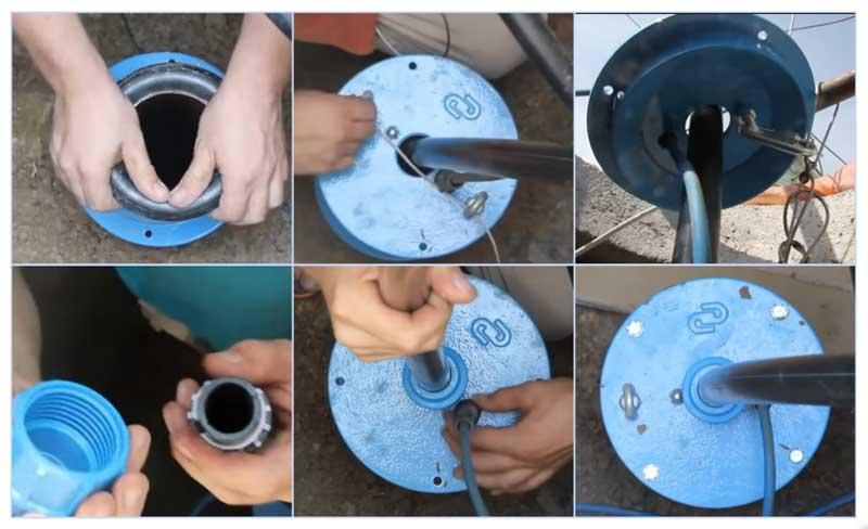 Как установить оголовок для скважины: монтаж, установка оголовка на скважину, для чего он нужен, зачем ставить, как правильно поставить своими руками