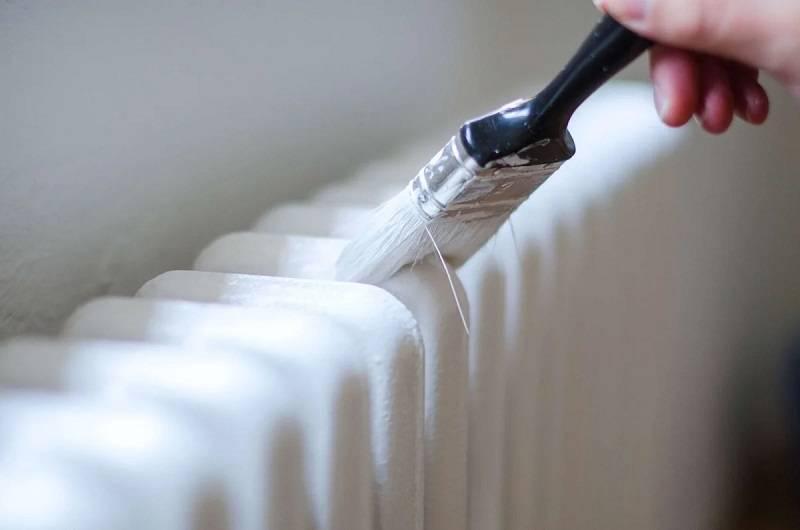 Покраска батарей отопления: как подготовить и чем покрасить старую чугунную батарею своими руками, фото и видео примеры