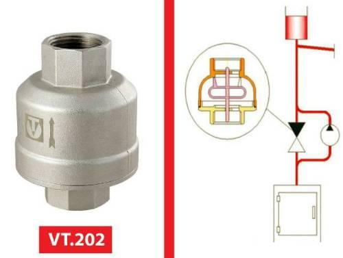 Обратные клапаны для отопления, где ставятся, схемы применения. правильный подбор обратного клапана для системы отопления