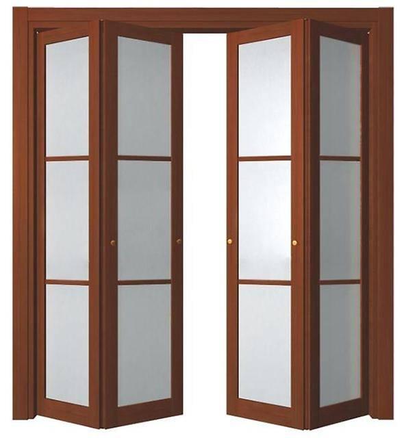 Как сделать и установить дверь гармошку: пошаговая инструкция и чертежи