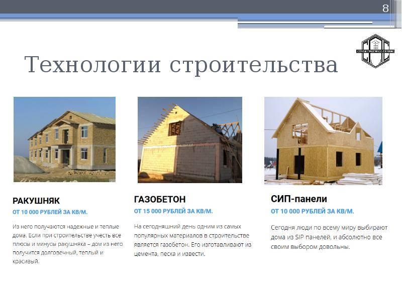 Новые технологии в строительстве коттеджей и частных домов - обзор преимуществ и недостатков
