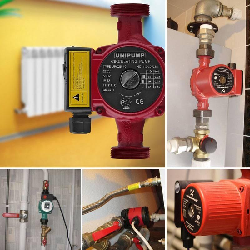 Как выбрать циркуляционный насос для отопления частных домов, принцип работы и расчет производительности насоса