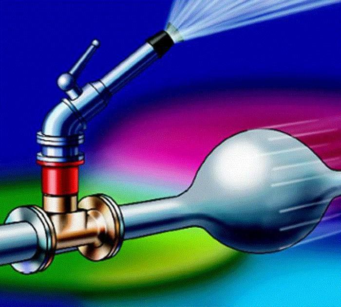 Воздух в водопроводе частном доме. воздух в полотенцесушителе: как устранить воздушные пробки