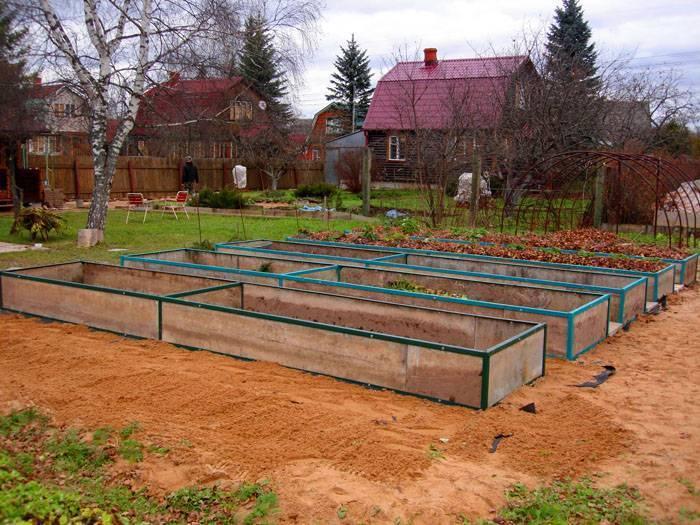 Грядки своими руками: пошаговая инструкция как разбить огород из подручных материалов (фото и видео)