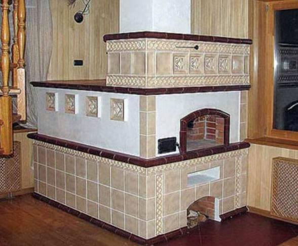 Облицовка печи керамической плиткой: как обложить печь кафельной плиткой, отделка своими руками, укладка плитки на печь, как правильно облицевать, обклеить кафелем