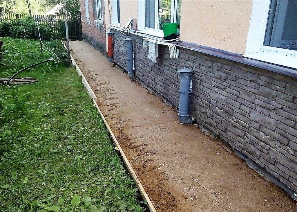 Чем покрыть бетонную отмостку вокруг дома  для защиты поверхности от разрушения - варианты пола
