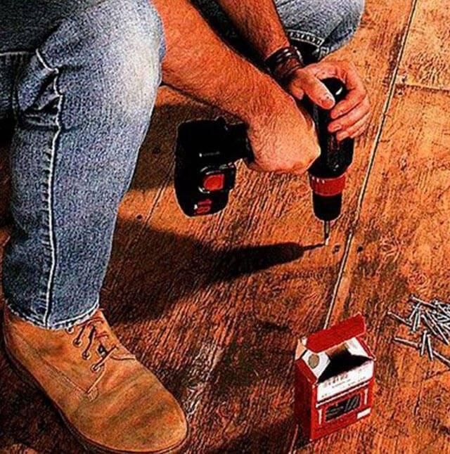 Скрипит деревянный пол в квартире: что делать, как устранить