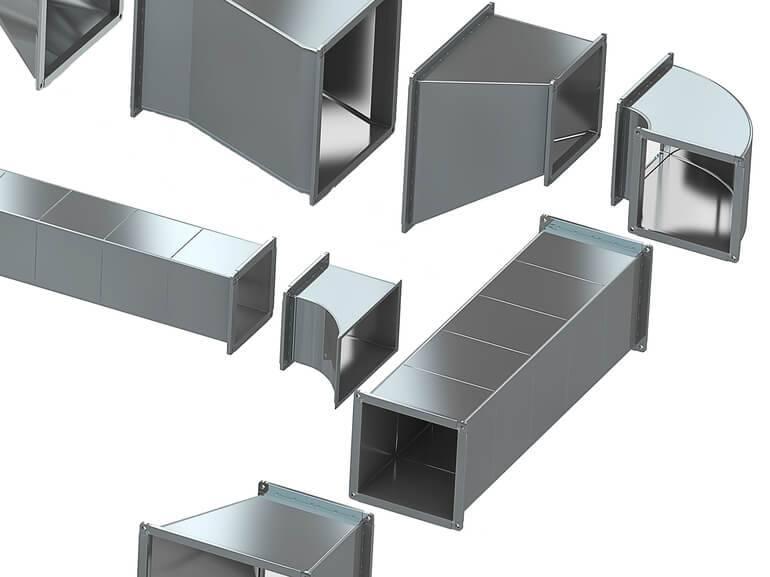 Трубы для вентиляции и вытяжки на кухне: ✅ оцинкованные воздуховоды и гофрированные