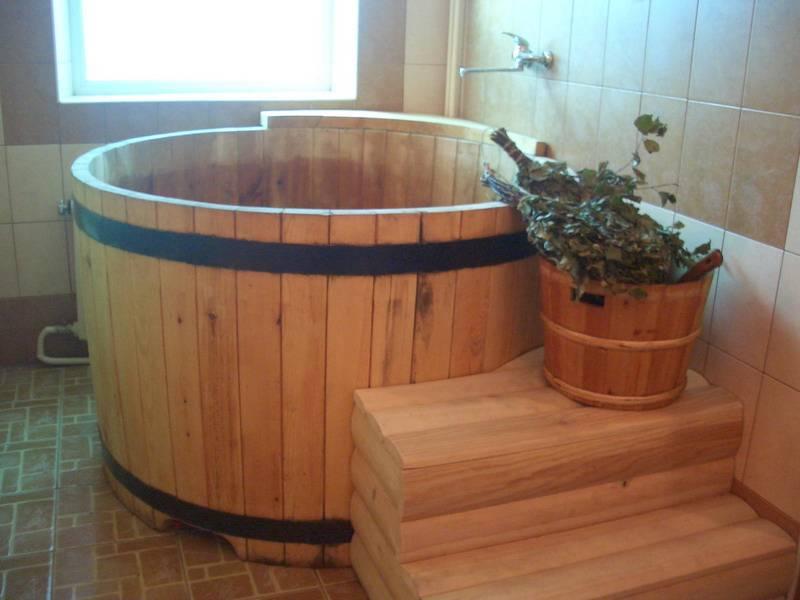 Купель для бани: пошаговые инструкции как сделать своими руками (мастер-класс + 90 фото)