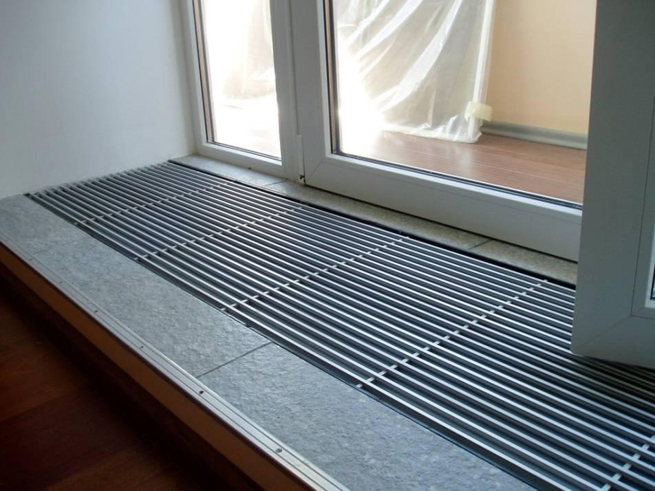 Вентиляционная решетка в подоконник: чтобы не было конденсата...
