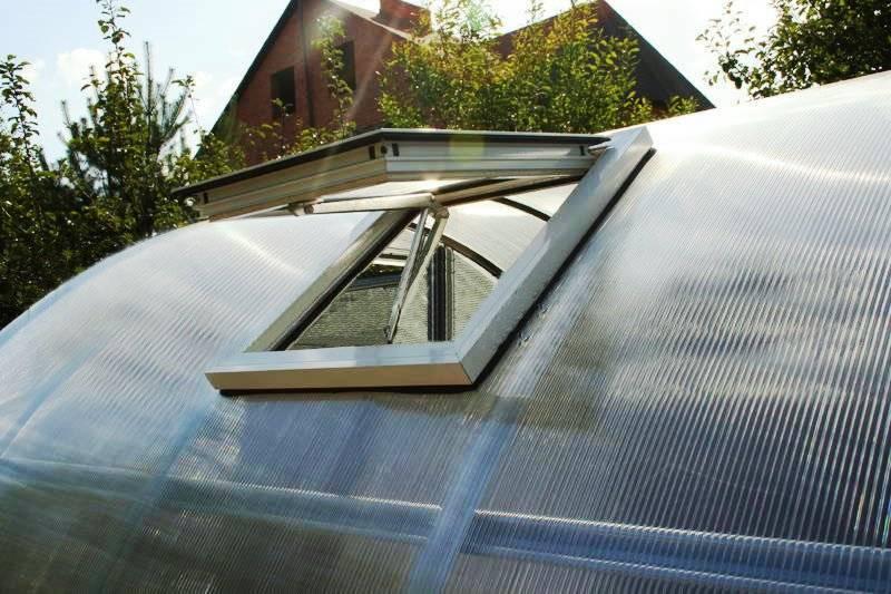 Как организовать вентиляцию в теплице?