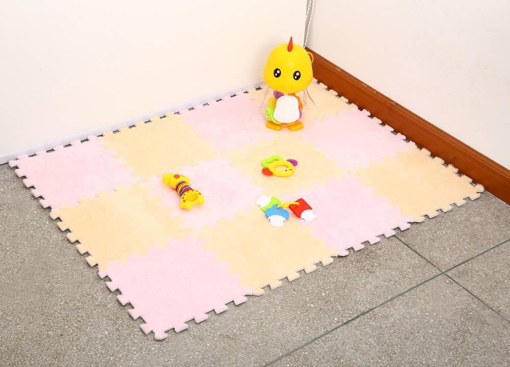 Мягкий пол для детей: теплый пол пазл для детских комнат, напольное покрытие под дерево, фото и видео
