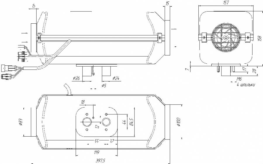 Отопитель планар: видео-инструкция по монтажу своими руками, особенности автономных изделий 4дм 24, цена, фото