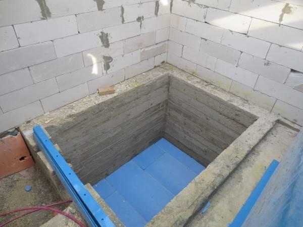 Как сделать бассейн в бане из бетона своими руками