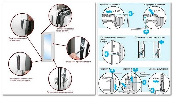Регулировка пластиковых окон самостоятельно на зиму: инструкция, видео