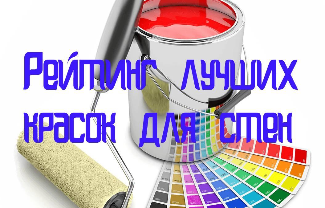 Какой краской лучше красить стены — сравниваем матовые краски разных производителей