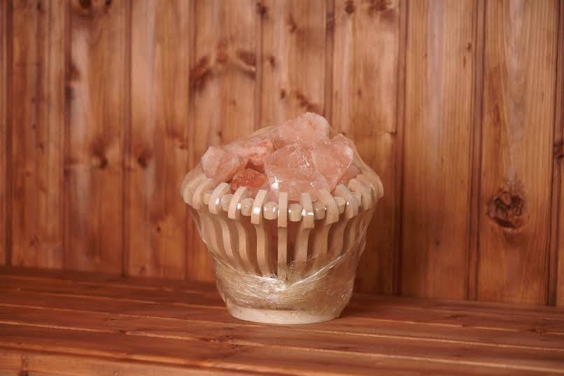 Гималайская соль для бани: применение и монтаж