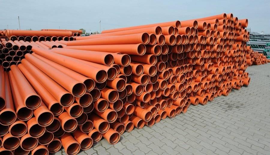 Цвет канализационных труб