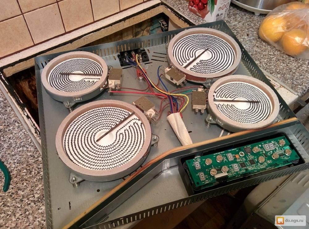Ремонт электроплит: как починить электрическую плиту своими руками? возможные причины неисправностей. почему выбивает автомат при включении?
