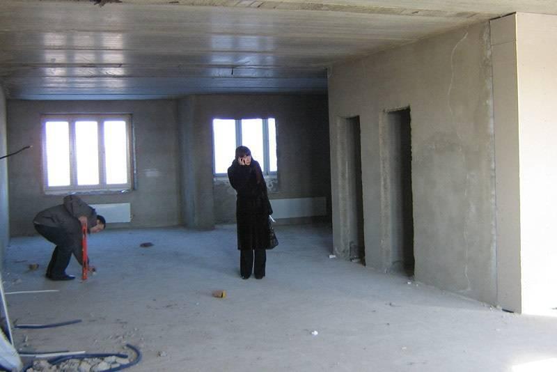 Ремонт квартиры в новостройке основные этапы