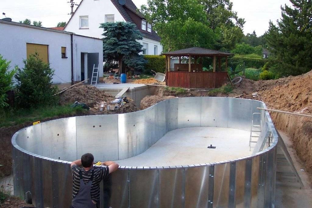 Как сделать бассейн своими руками - фото и видео инструкция