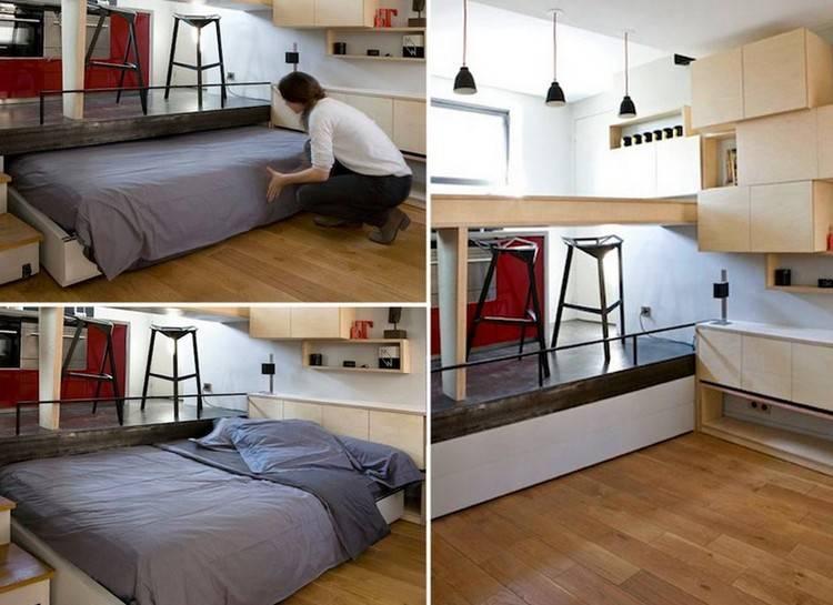 Изготовление кровати-подиума своими руками — поэтапная инструкция