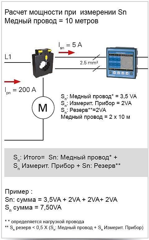 Как подобрать трансформатор тока для электросчетчика по нагрузке