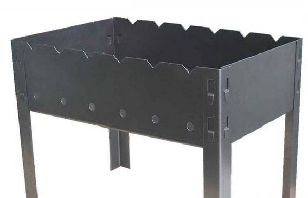 Барбекю своими руками из металла: чертеж, размеры, схема, фото, установка металлического мангала