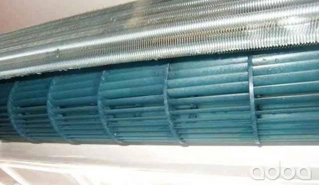 Чистка теплообменника внутреннего блока (испарителя) кондиционера