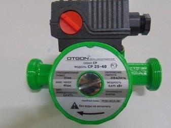 Виды насосов, устанавливаемых в систему отопления