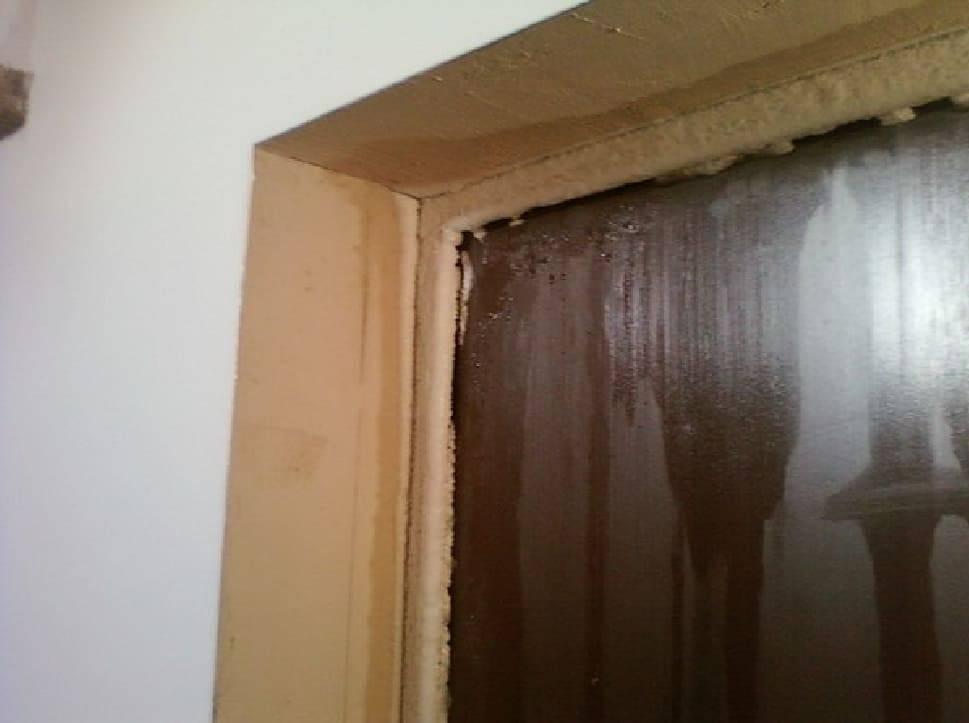 Почему потеет входная дверь? пару советов что с этим делать
